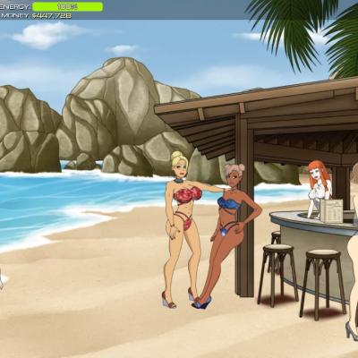 porn empire beach party