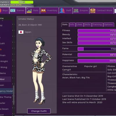 porn empire model details
