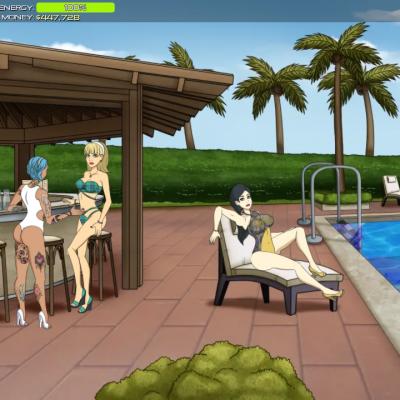 porn empire pool party