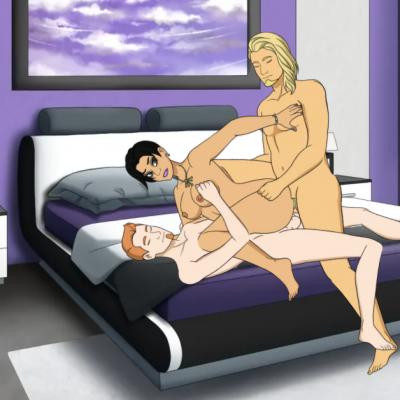 mmf threesome interracial