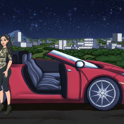 porn empire night car